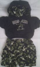Adorable Build-a-Bear 'Funky Hoody' 2-Piece Outfit